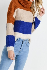 Apricot Lane St. Cloud Colorblock Sweater - Product Mini Image