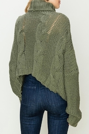 Apricot Lane St. Cloud Duddley Sweater Olive - Front full body