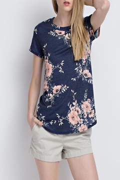 Shoptiques Product: Floral Short Sleeve Tee