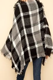Apricot Lane St. Cloud Fringe Edge Poncho - Front full body