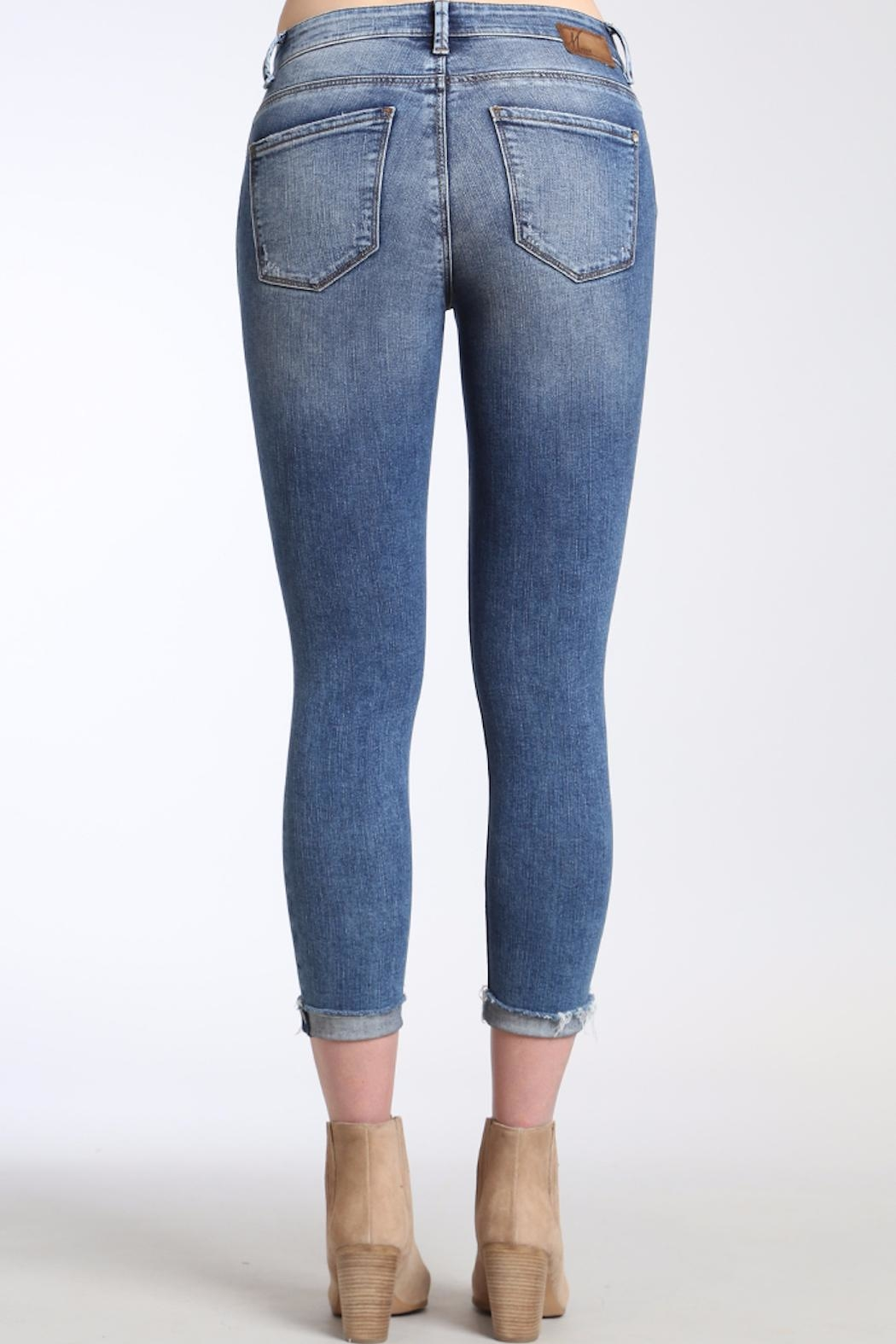 Apricot Lane St. Cloud High Rise Skinny Jeans - Side Cropped Image