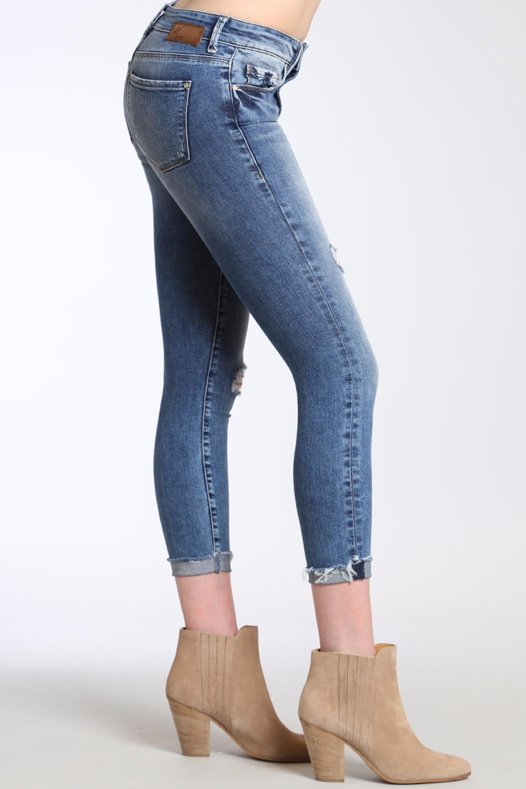 Apricot Lane St. Cloud High Rise Skinny Jeans - Front Full Image