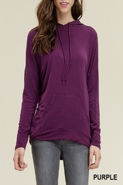 Apricot Lane St. Cloud Kangaroo Top-Purple - Product Mini Image