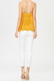 Apricot Lane St. Cloud Lace Button Up Top - Back cropped