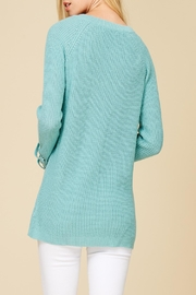 Apricot Lane St. Cloud Laced Up Sweater - Side cropped