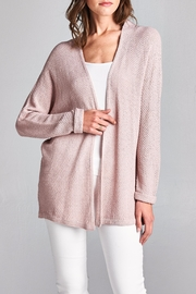 Apricot Lane St. Cloud Make Me Blush Cardigan - Product Mini Image