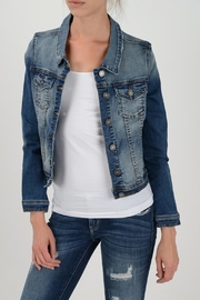 Apricot Lane St. Cloud Medium Wash Jacket - Front cropped