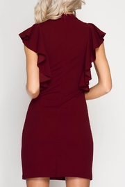 Apricot Lane St. Cloud One Step Closer Dress - Back cropped