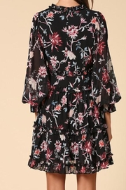 Apricot Lane St. Cloud Ruffled Floral Dress - Front full body