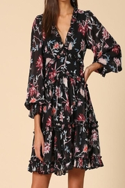 Apricot Lane St. Cloud Ruffled Floral Dress - Front cropped