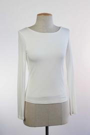 Apricot Lane St. Cloud Scoop Neck Top - Product Mini Image