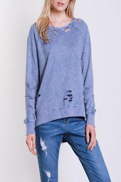 Shoptiques Product: Tattered Dreamer Sweatshirt