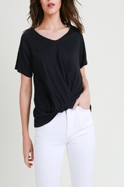 Apricot Lane St. Cloud The Other-Side Tee-Black - Front cropped