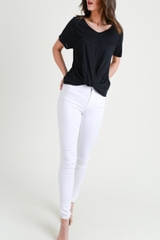 Apricot Lane St. Cloud The Other-Side Tee-Black - Front full body