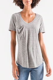 Apricot Lane St. Cloud Triblend Pocket Tee-Grey - Product Mini Image