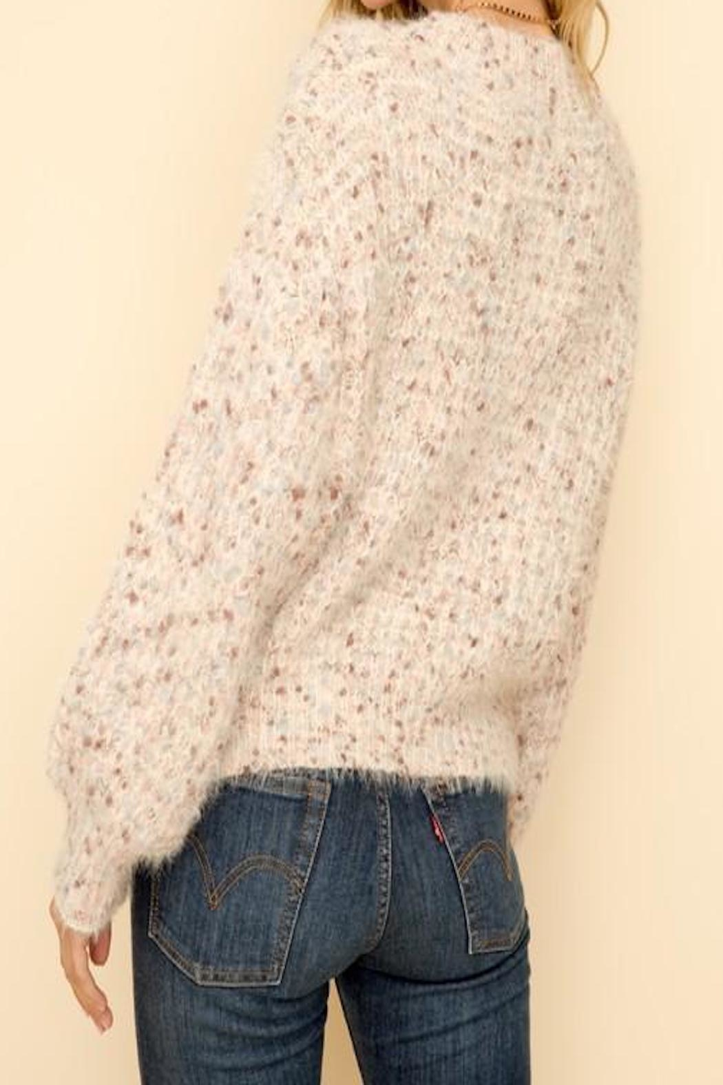 Apricot Lane St. Cloud Volume Sleeve Sweater - Front Full Image