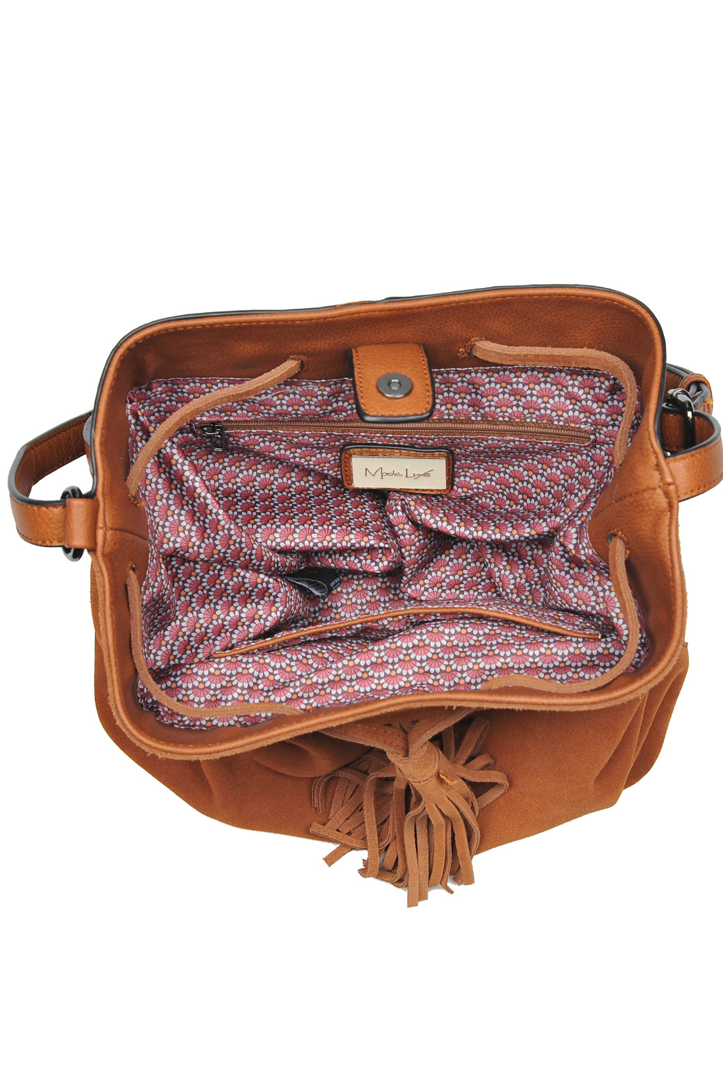 Moda Luxe April Bag with tassel - Side Cropped Image