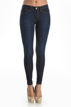 KanCan April Dark Wash Skinny Jeans - Product List Image