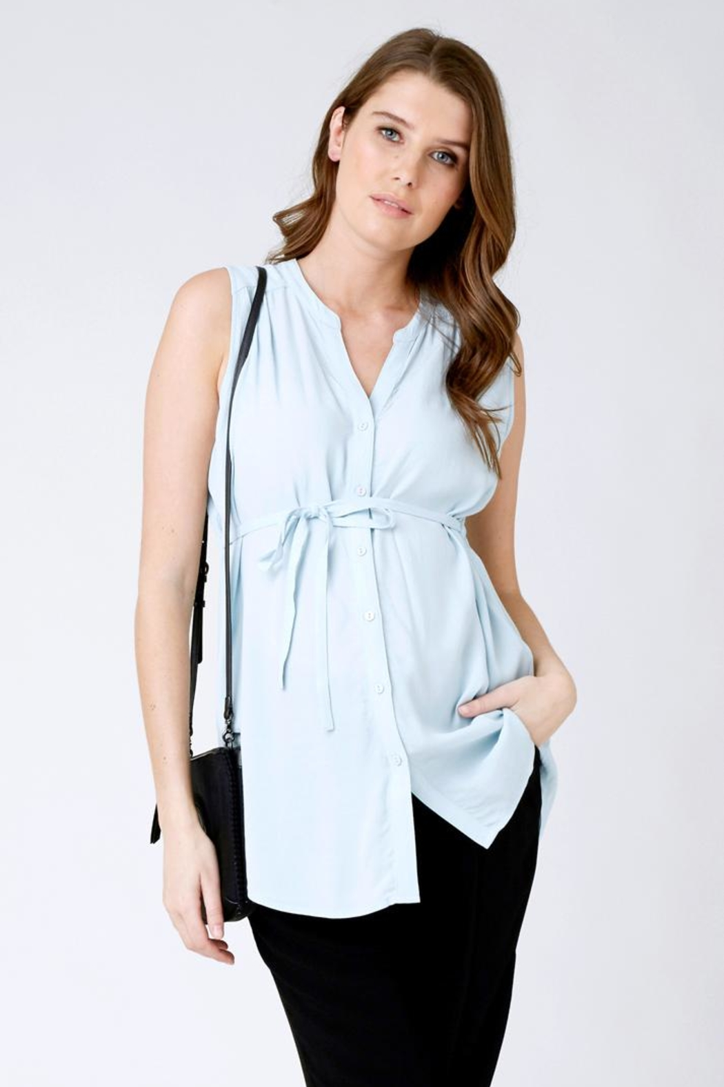Ripe Maternity April Sleeveless Tunic - Front Cropped Image