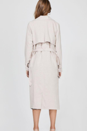 Greylin April Trench Coat - Back cropped