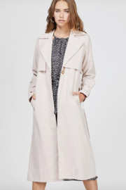 Greylin April Trench Coat - Front cropped