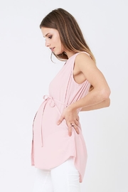 Ripe Maternity April Tunic - Pink - Front full body