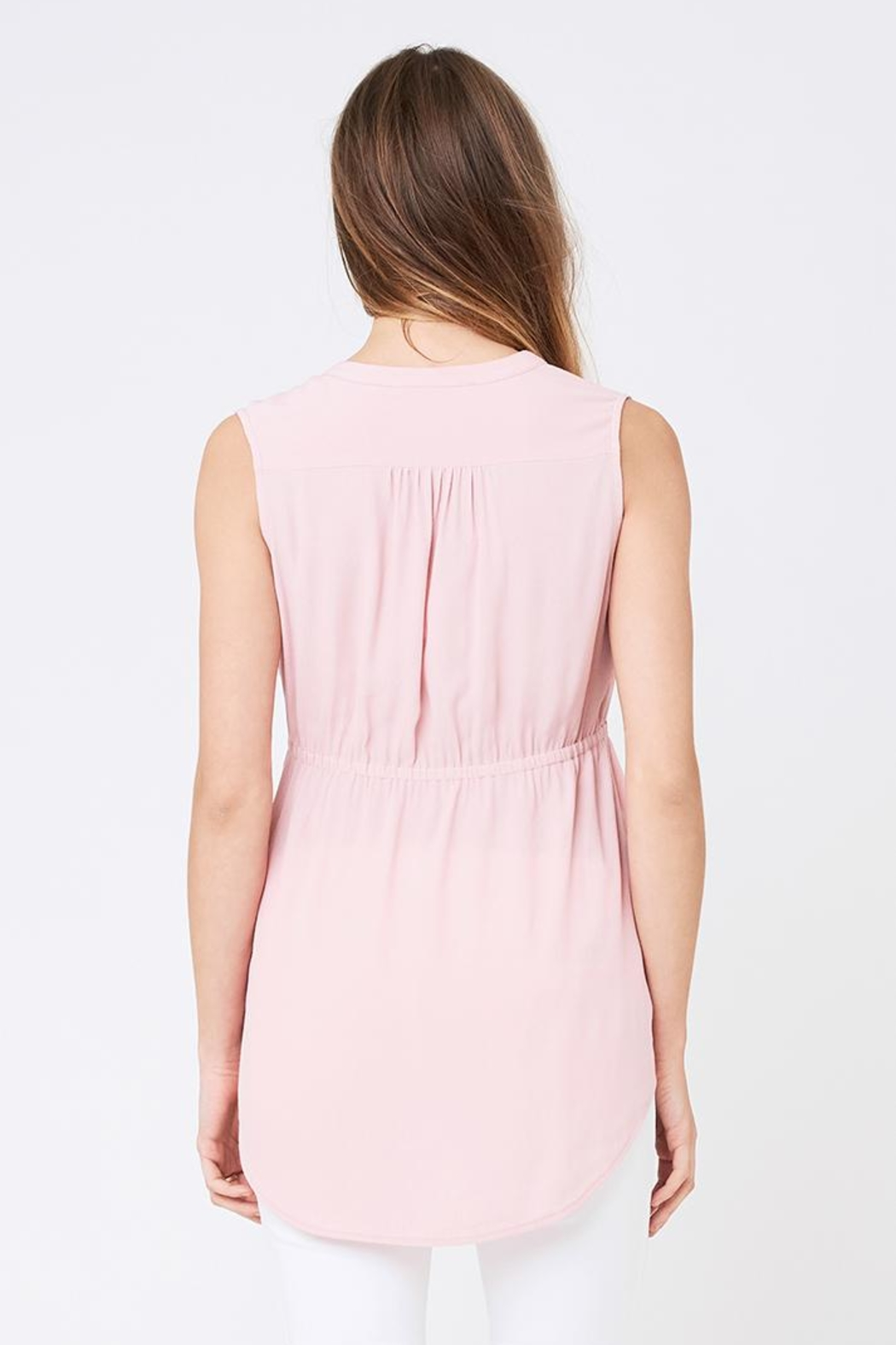 Ripe Maternity April Tunic - Pink - Side Cropped Image