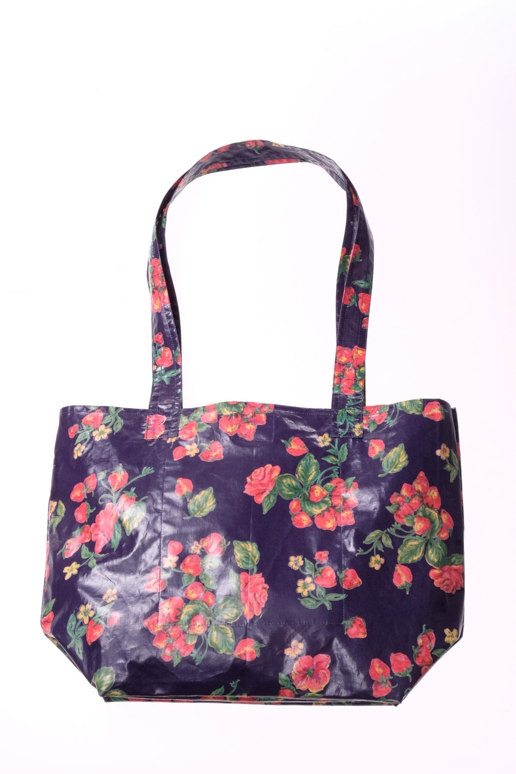 April Cornell Strawberry Tote Bag - Front Cropped Image
