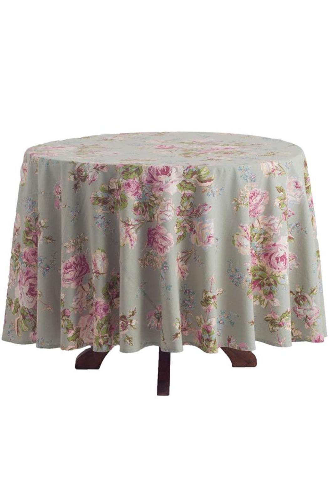 April Cornell Victorian Rose Tablecloth   Front Cropped Image