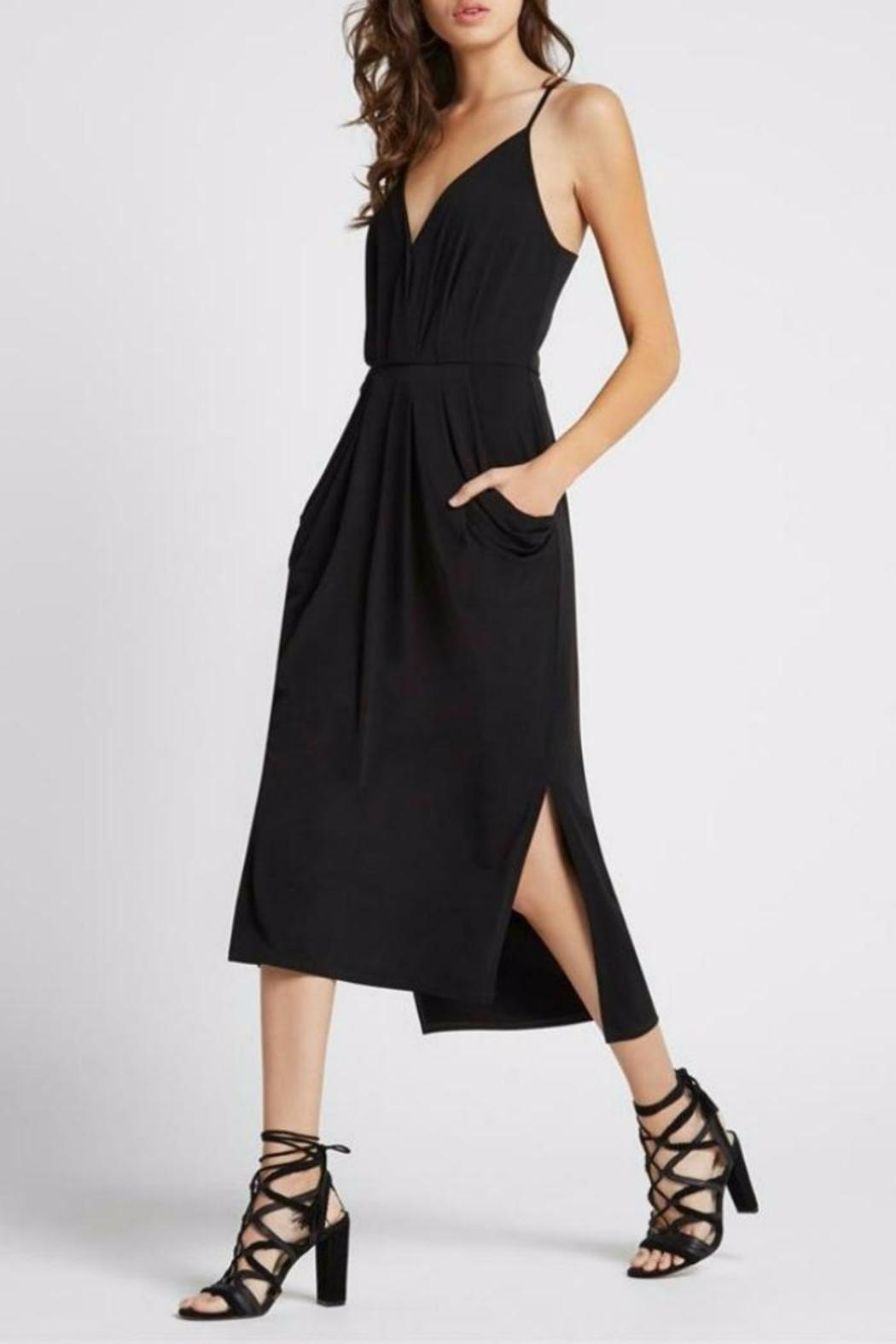 b50a7ffd55 BCBG Max Azria Faux-Wrap Midi Dress from Cleveland by April Snow ...