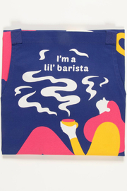 Blue Q  Apron Lil Barista - Front full body