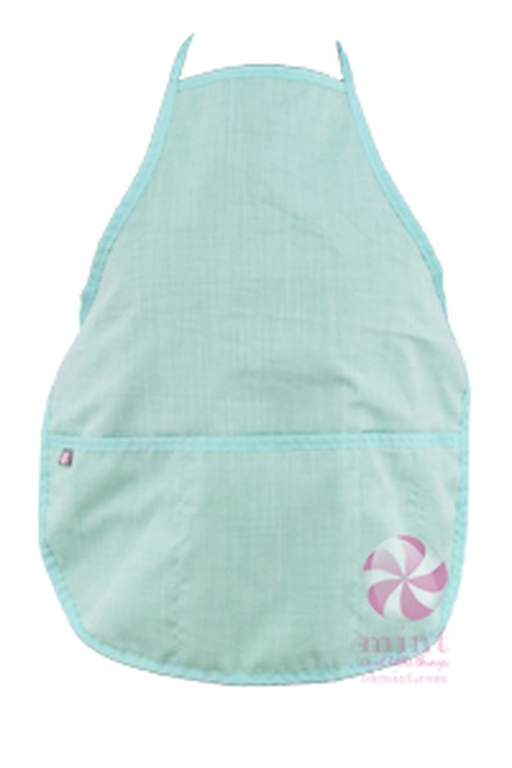 oh mint Aprons - Front Cropped Image