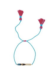 Lolly Ella Aqua Bar Bracelet - Product Mini Image