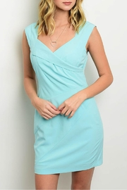 Ark & Co. Aqua Bodycon Dress - Product Mini Image