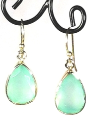 Italian Ice Aqua Chalcedony Earrings - Product Mini Image