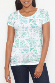 Whimsy Rose Aqua Citrus S/S Scoop Shirt - Product Mini Image
