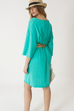 NU New York Aqua Cruise Dress - Alternate List Image