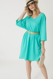NU New York Aqua Cruise Dress - Product Mini Image