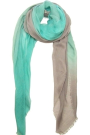 Blue Pacific Aqua Dream Scarf - Front cropped