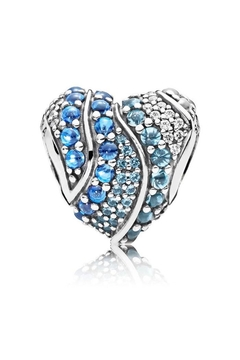 Pandora Jewelry Aqua Heart Charm - Alternate List Image