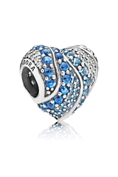 Pandora Jewelry Aqua Heart Charm - Product List Image