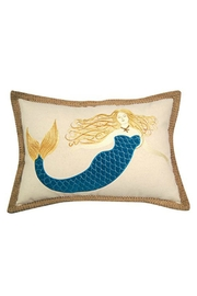 Rightside Design Aqua Mermaid Pillow - Product Mini Image