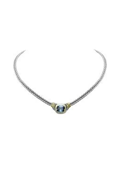 JOHN MEDEIROS Aqua-Nouveau Double-Strand Necklace - Product List Image
