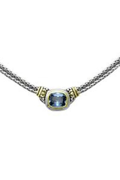 JOHN MEDEIROS Aqua-Nouveau Double-Strand Necklace - Alternate List Image
