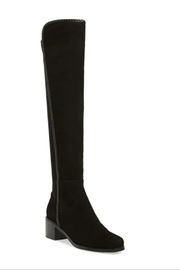 Aqua Diva Black  Waterproof Over The Knee Boots - Side cropped