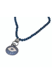 Slate Gray Gallery Aquablue Quartz Necklace - Front full body