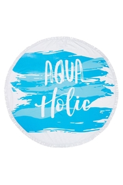 Mud Pie Aquaholic Blanket - Product Mini Image