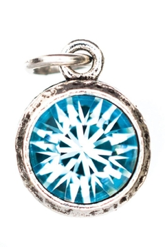 Beaucoup Designs Aquamarine Charm - Alternate List Image
