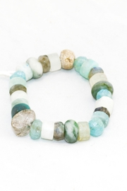 Slate Gray Gallery Aquamarine Crystal Bracelet - Product Mini Image