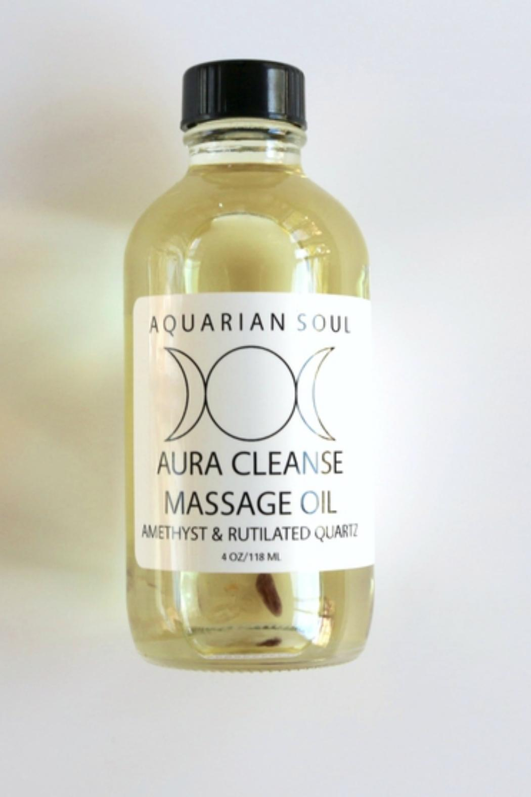 Aquarian Soul Aura Cleanse Gemstone - Main Image